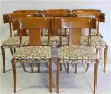 Set of 8 Fine Quality Klismos Chairs After T.H.