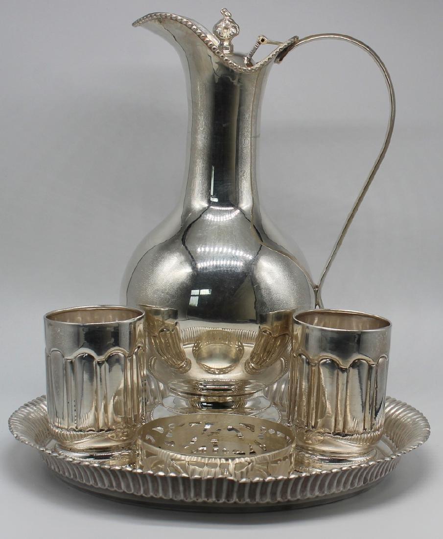 SILVER. Maharaja Style Silver Bar Service.