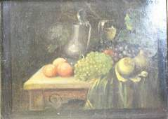 Johann David De Heen Signed Oil Still Life