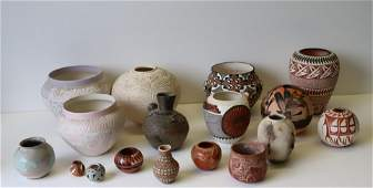 Large Grouping Of Assorted Vintage Acoma
