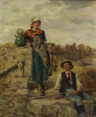 HENRY JOHN YEEND-KING (ENGLISH, 1855-1924).