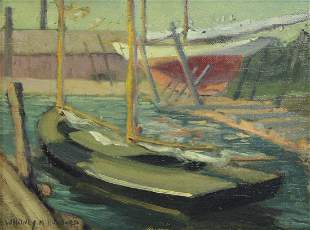 WHITNEY HUBBARD (AMERICAN, 1875-1965).