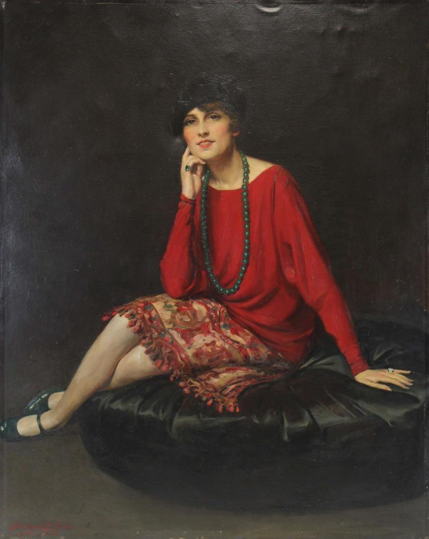 GIULIO de BLAAS (ITALIAN, 1888-1934).
