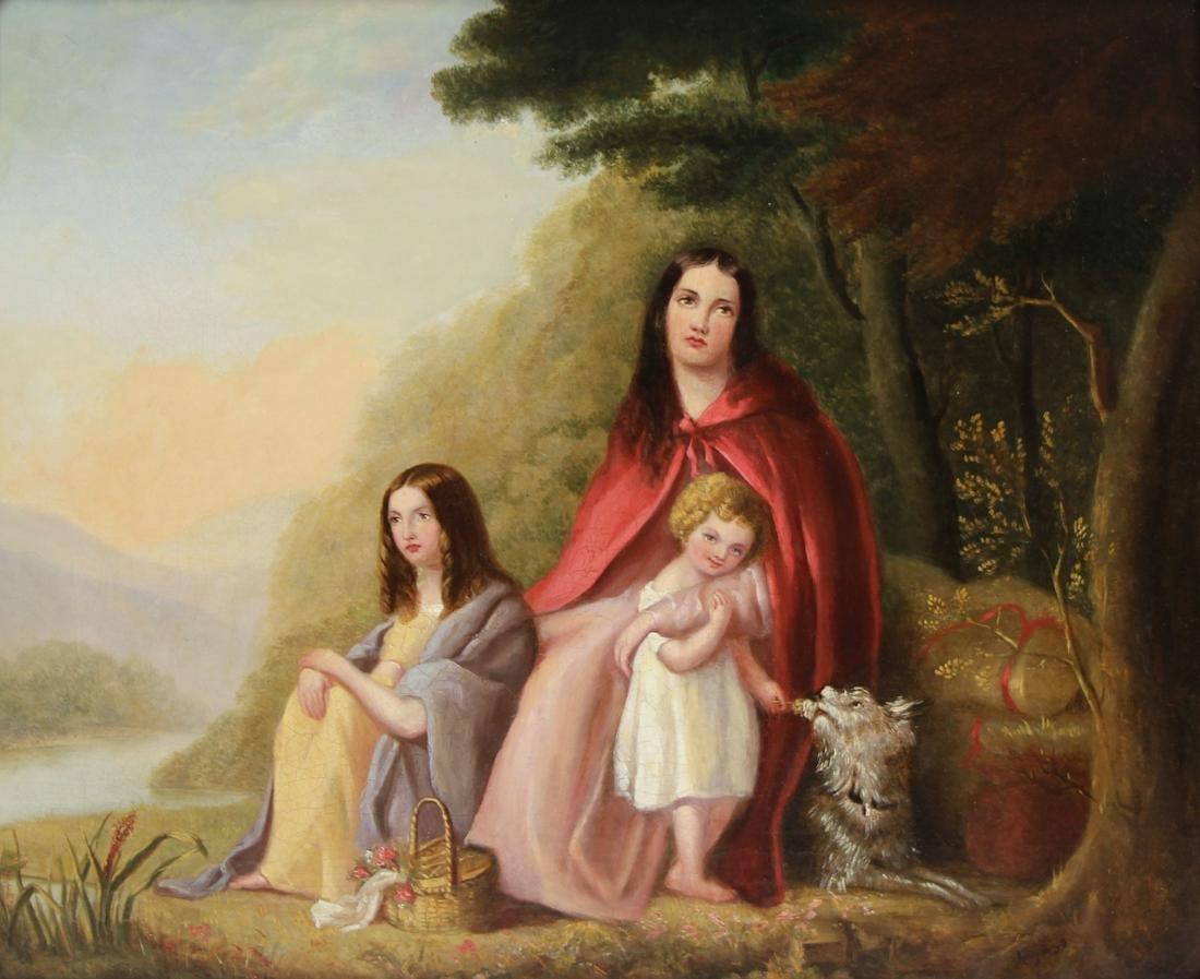 AUGUSTUS EGG (ENGLISH, 1816-1863).