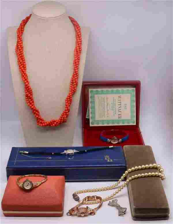 JEWELRY. Assorted Ladies Jewelry Grouping.