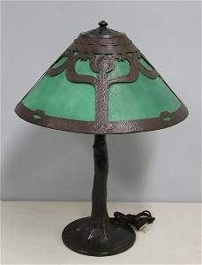 HANDEL.Table Lamp With Bent Tree Base