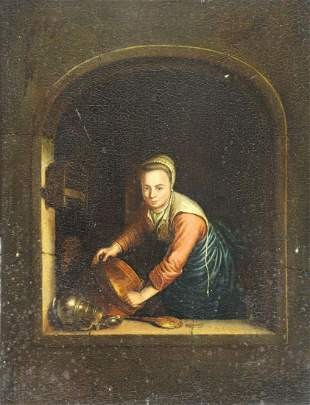 MANNER OF GERRIT DOU (17th CENTURY).
