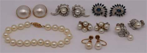 JEWELRY Assorted Ladies Gold Jewelry Grouping