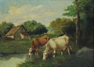 CHARLES COLLINS (ENGLISH, 1851-1921).
