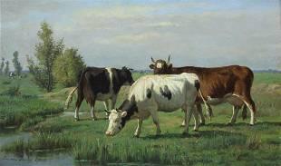 EMILE VAN DAMME-SYLVA (BELGIAN, 1853-1935).