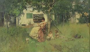 LEON MORAN (AMERICAN, 1864-1941)