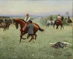 GODFREY DOUGLAS GILES (BRITISH, 1857-1941).