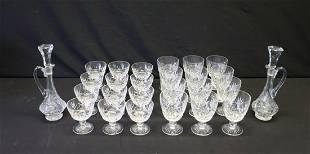 Grouping of Stuart Fine Crystal Stemware