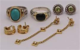 JEWELRY David Yurman Gold and Sterling Jewelry