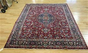 Antique And Finely Hand Woven Roomsize Carpet