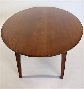 Antique Hunt Style Farm Table
