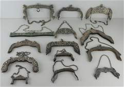 SILVER. Assorted Silver Purse Frames.