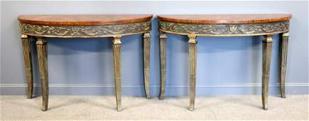 Pair Of Althorp Theodore Alexander Vintage And