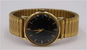 JEWELRY Mens Vintage Bulova 14kt Gold Watch