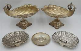 SILVER Assorted Continental Silver Grouping