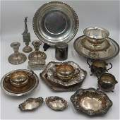 STERLING Assorted Sterling Hollow Ware Grouping