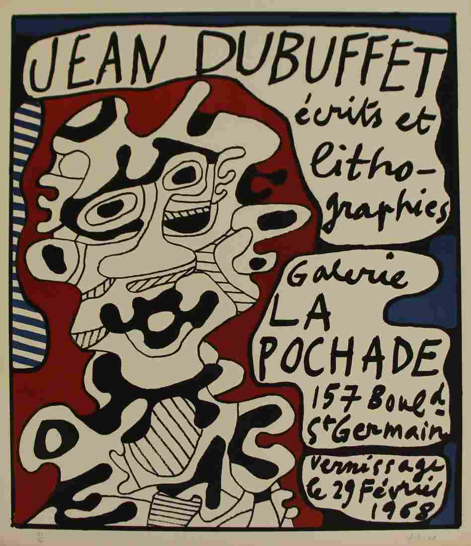 JEAN DUBUFFET (FRENCH, 1901-1985).