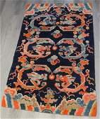 Chinese NingXia Wool Dragon Carpet