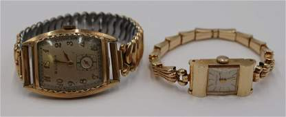 JEWELRY Watch Grouping Inc Bulova and Wittnauer