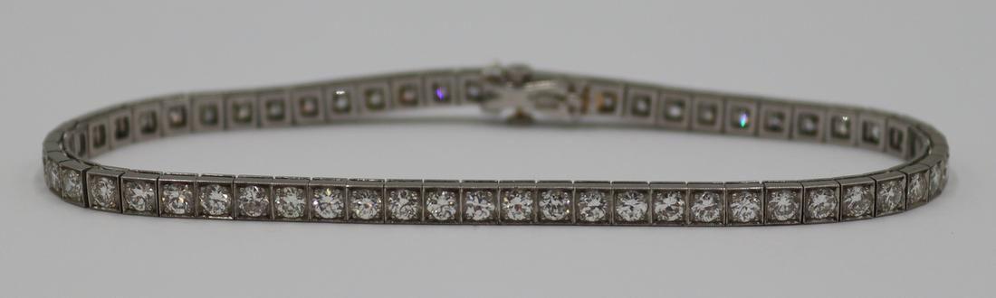 JEWELRY. Tiffany & Co. Platinum and Diamond