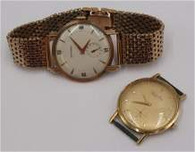 JEWELRY Vintage Mens Watch Grouping Inc Longines
