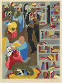 JACOB LAWRENCE (AFRICAN-AMERICAN, 1917-2000).