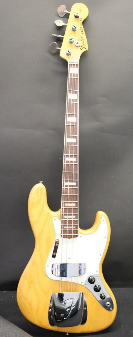 Vintage 1973 Fender Jazz Bass Guitar Serial #