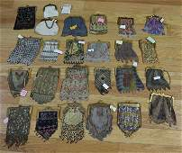 Assorted Grouping of (26) Antique/Vintage Purses.