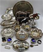 STERLING Assorted Grouping of Silver Hollow Ware