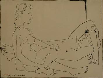 PABLO PICASSO (SPANISH, 1881-1973).