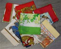 COUTURE 7 Hermes Silk Scarves