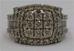 JEWELRY Signed 14kt Gold and Diamond Ring