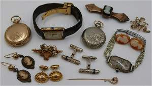 JEWELRY Assorted Vintage and Antique Jewelry