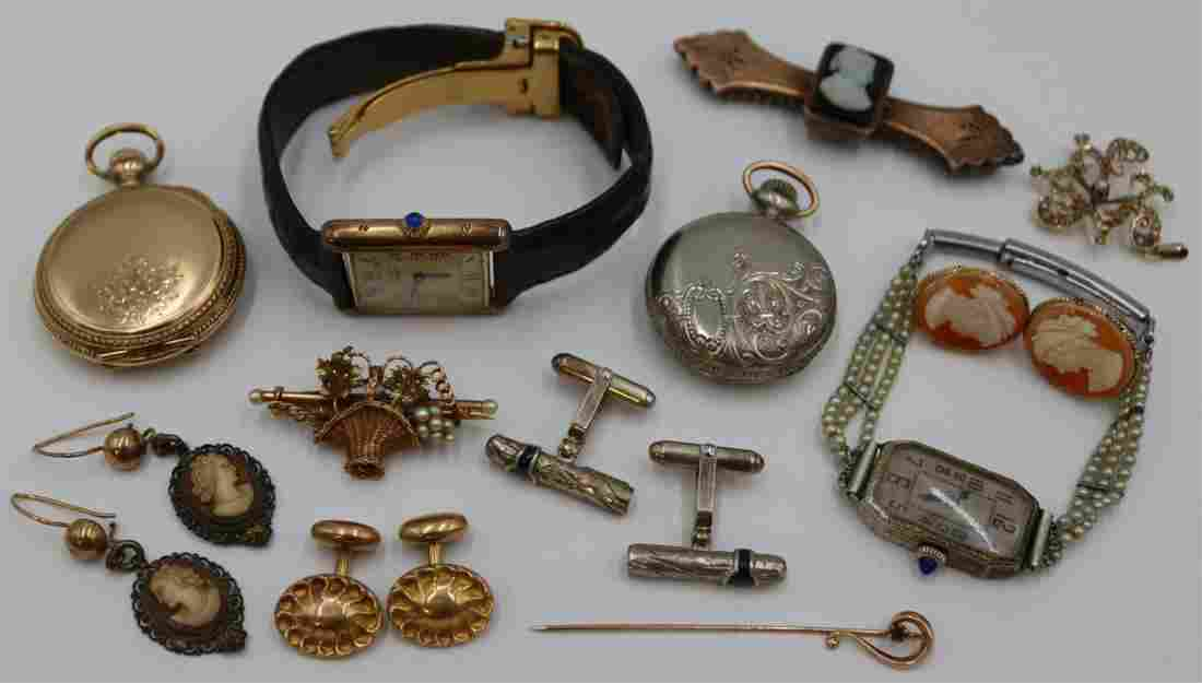 JEWELRY. Assorted Vintage and Antique Jewelry.