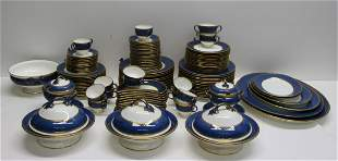 """Large Wedgwood """"Swinburne Blue"""" Porcelain"""