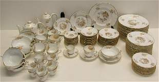 "Large Grouping of Spode ""Louvain"" and"