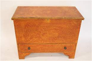 Fine Quality Grain Painted David T. Smith Trunk