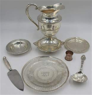 STERLING. Assorted Grouping of Sterling