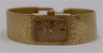 JEWELRY Vintage Ladies Omega 14kt Gold Watch