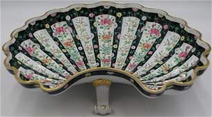 Herend Famille Verte Style Shell Form Bowl.