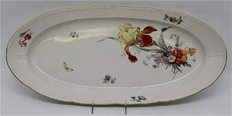 Large K.P.M. Porcelain Platter.
