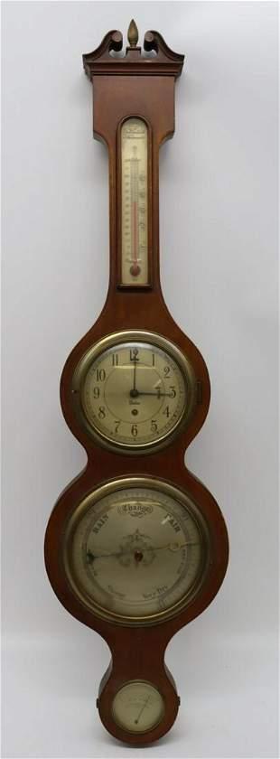 Antique Chelsea Clock Barometer.