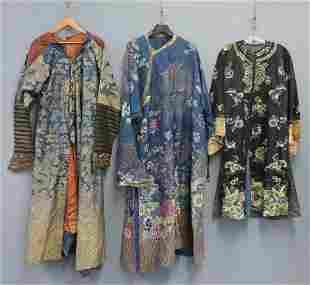 (3) Antique/Vintage Kimono Robes.