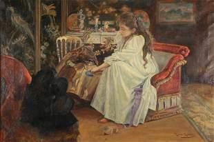 ROMAN RIBERA CIRERA (SPANISH, 1849-1935).