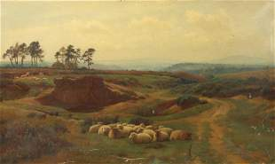 WILLIAM SIDNEY COOPER (BRITISH, 1854-1927).